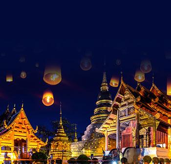 【慢享·自由行】泰国清迈、清莱5天*南航机票+4晚酒店+游清莱参观艺术杰作黑白庙+学泰餐+大象营+打卡网红火车头咖啡厅*广州往返*等待确认<清迈清莱>