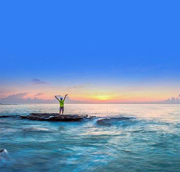 【轻旅行】广西、北海、涠洲岛、动车3天*十里银滩<2人成团,纯玩0购物,一晚指定入住涠洲岛上酒店>